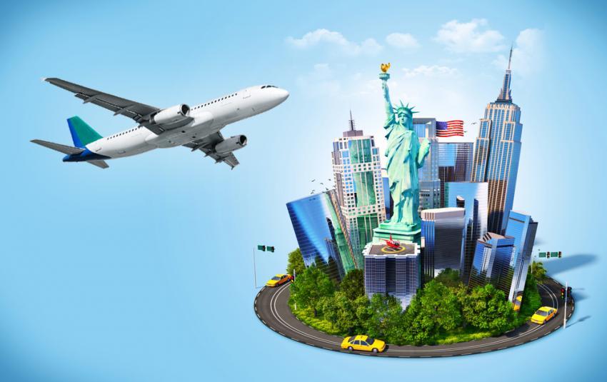 săn vé máy bay giá rẻ đi Mỹ