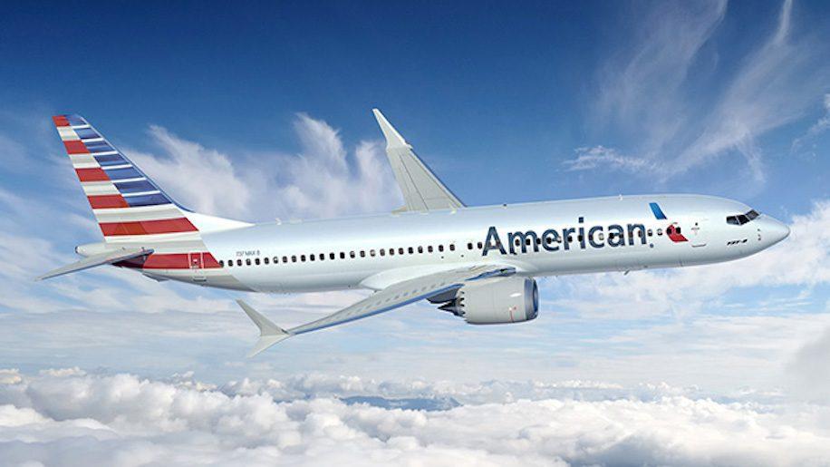 American Airlines đi Mỹ