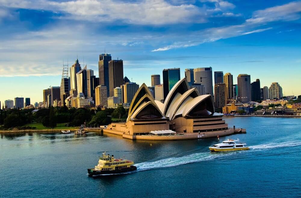Vé máy bay đi Úc (Australia)