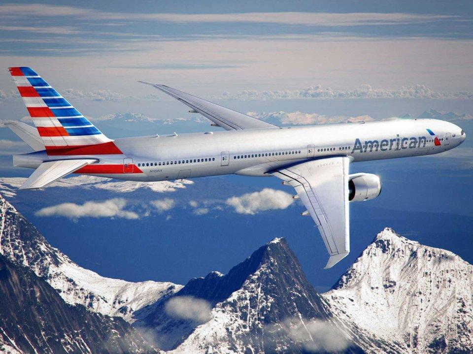 Vé máy bay hãng American Airlines