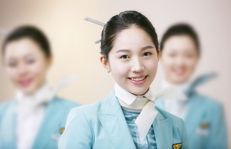 Tiếp viên hàng không của hãng hàng không Korean Air