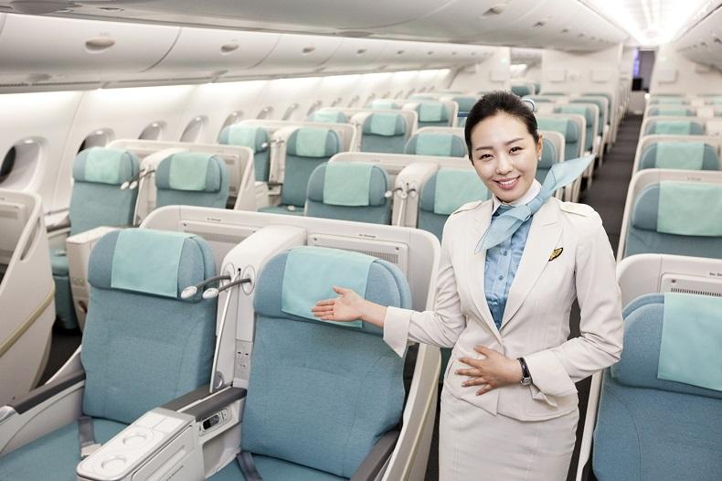 Nhân sự trên chuyến bay của hãng hàng không Korean Air