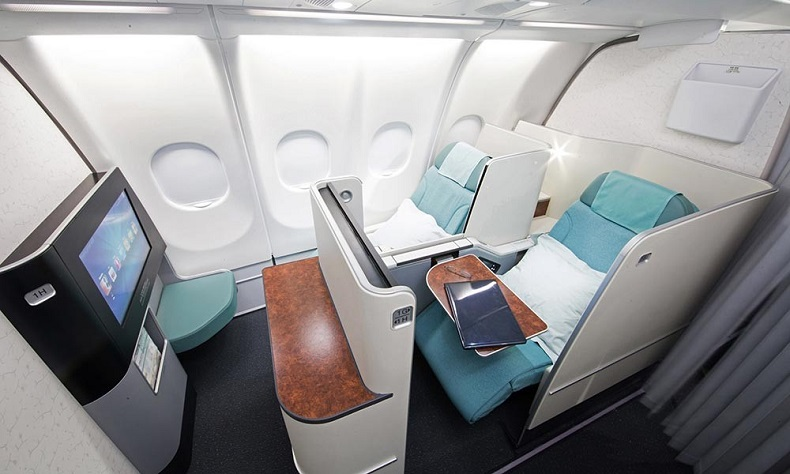 Hạng ghế thương gia của hãng hàng không Korean Air