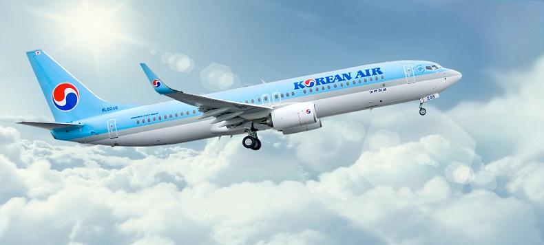 Máy bay của hãng hàng không Korean Air