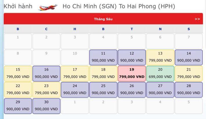 Vé máy bay đi Hải Phòng - Vé máy bay khuyến mãi tháng 6