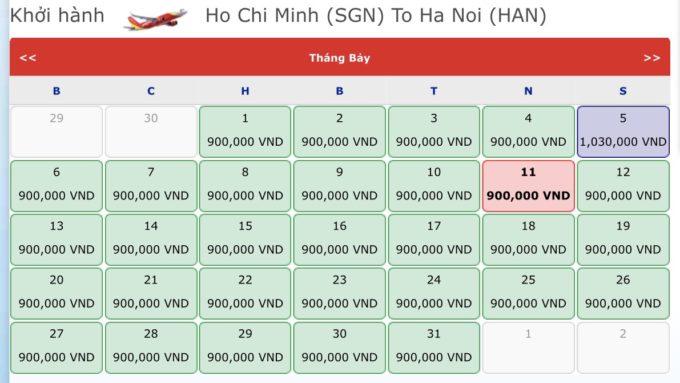 Vé máy bay đi Hà Nội. Vé máy bay khuyến mãi tháng 7